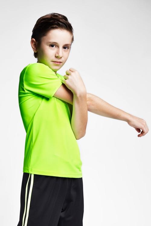 Neon Yeşil Çocuk T-Shirt 20S-3220-20N