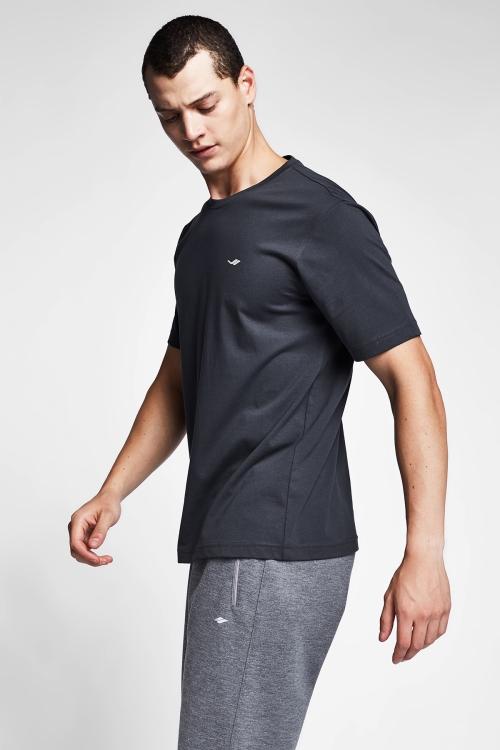 Antrasit Erkek T-Shirt 20S-1202-20N