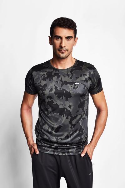 Haki Erkek Kısa Kol T-Shirt 20S-1219