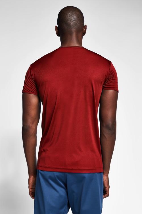 Bordo Erkek T-Shirt 20S-1220-20N