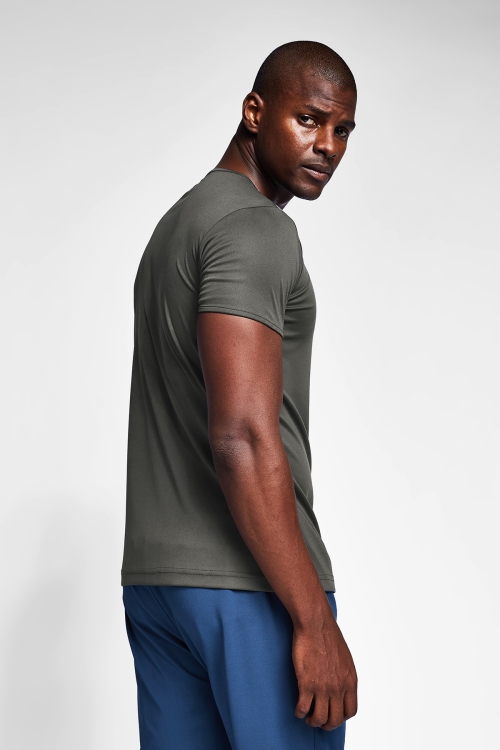 Haki Erkek T-Shirt 20S-1220-20N