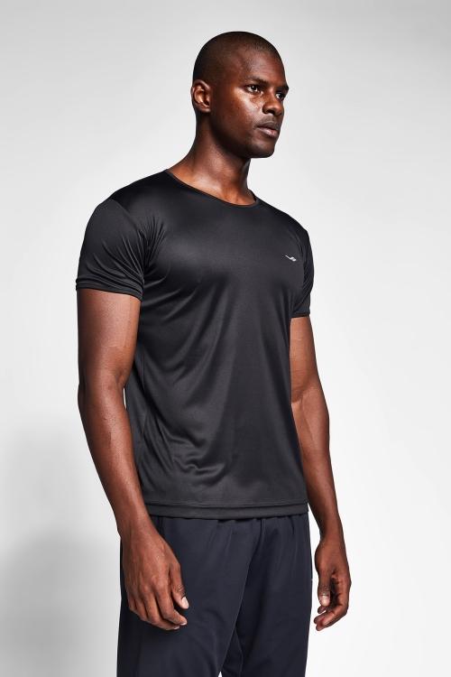 Siyah Erkek T-Shirt 20S-1220-20N