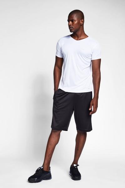 20S-1221-20N Men Short Sleeve TShirt White
