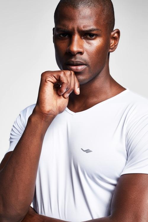 Beyaz Erkek T-Shirt 20S-1221-20N