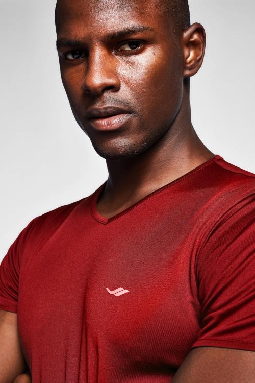 Bordo Erkek T-Shirt 20S-1221-20N