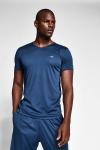 Safir Mavi Erkek T-Shirt 20S-1221-20N