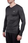 Antrasit Erkek Uzun Kol T-Shirt 20S-1223