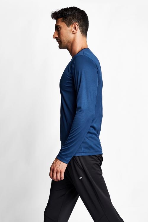 Kozmik Safir Erkek Uzun Kol T-Shirt 20S-1223