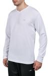 Beyaz Erkek Uzun Kol T-Shirt 20S-1225