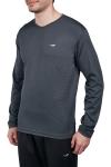 Antrasit Erkek Uzun Kol T-Shirt 20S-1225