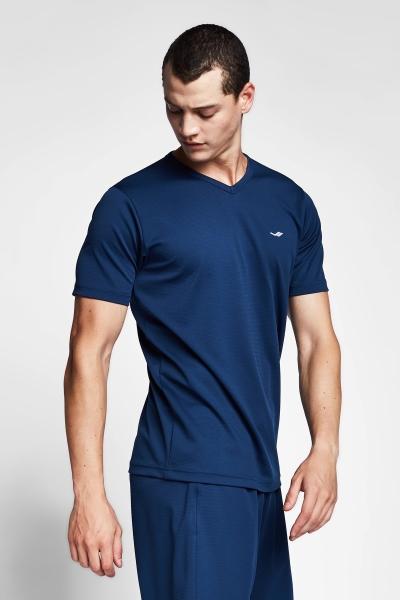 20S-1231-20N Men Short Sleeve TShirt Navy
