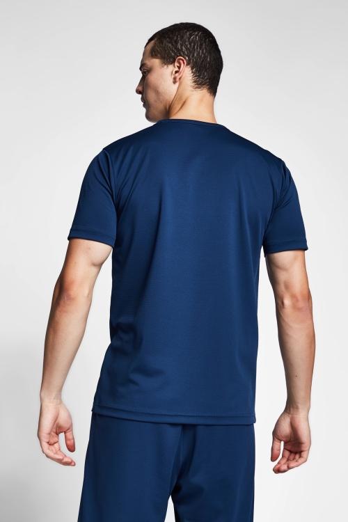 Safir Mavi Erkek T-Shirt 20S-1231-20N