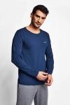 Kozmik Safir Erkek Uzun Kol T-Shirt 20S-1236