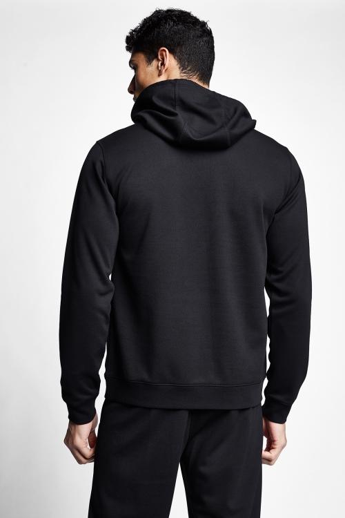 Siyah Erkek Kapüşonlu Sweatshirt 20S-1239-20N