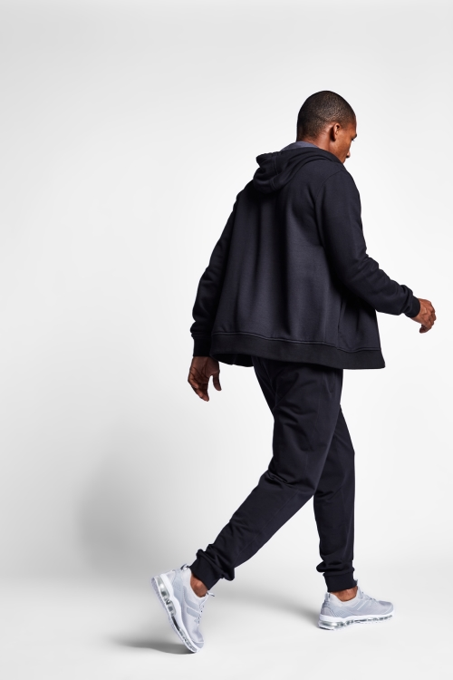 Siyah Erkek Kapüşonlu Üst 20S-1241-20N