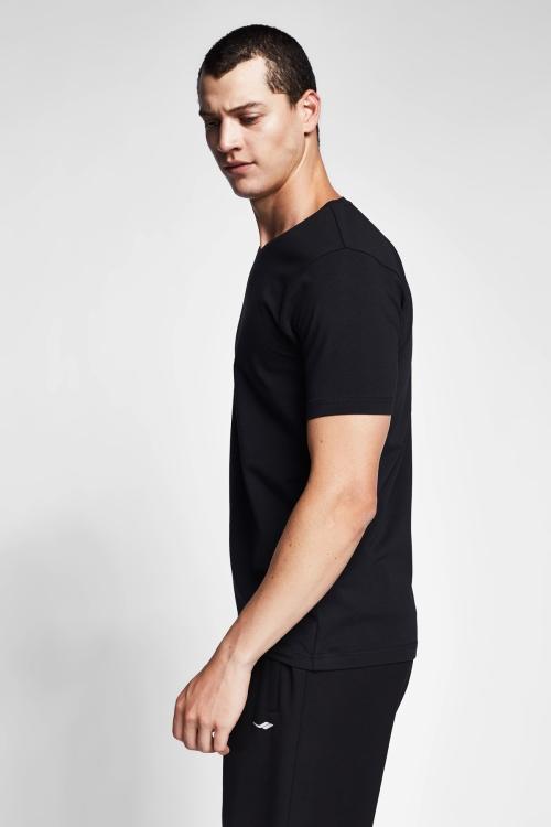 Siyah Erkek T-Shirt 20S-1246-20N