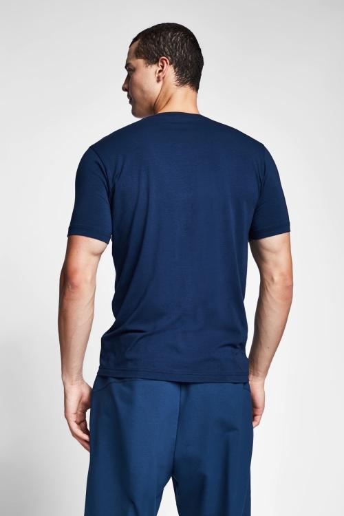 Safir Mavi Erkek T-Shirt 20S-1246-20N