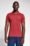 20S-1297-20N Men Short Sleeve Polo Collar TShirt  Red