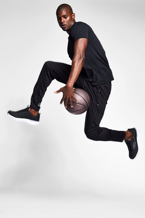 Siyah Erkek T-Shirt 20S-1298-20N