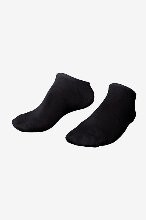 La-3153 Siyah 2'li Patik Çorap 40-45
