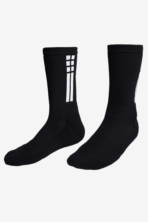 La-3155 Siyah Tenis Çorap 40-45 Numara