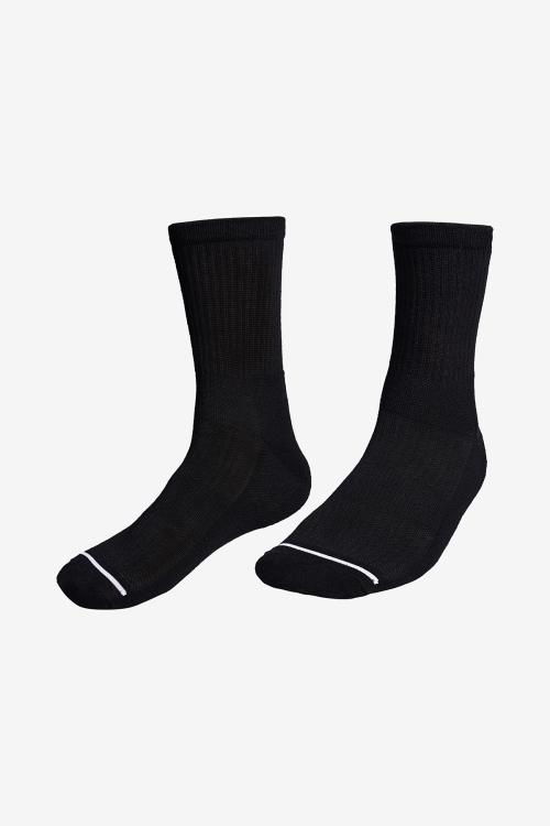 La-3157 Siyah Tenis Çorap 40-45 Numara