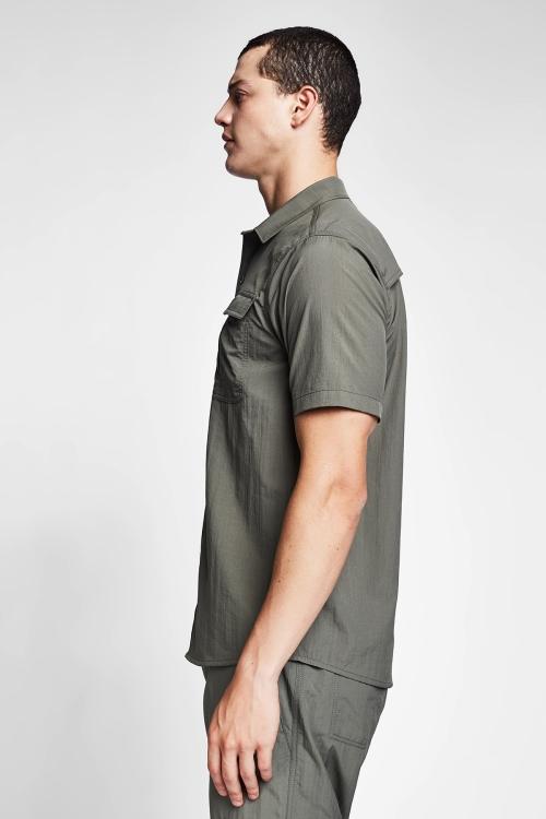 Haki Erkek Gömlek 20Y-1153