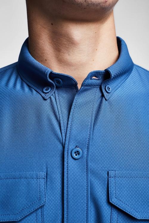 Derin Mavi Erkek Gömlek 20Y-1154