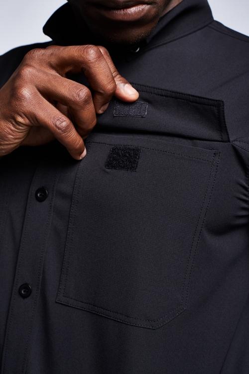 Siyah Erkek Gömlek 20Y-1155