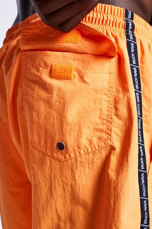 Neon Oranj Erkek Deniz Şortu 20Y-1160