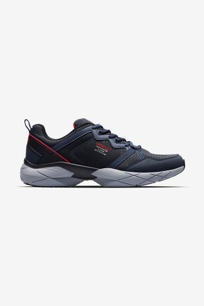 Men Easystep Snake Sports Shoes Navy