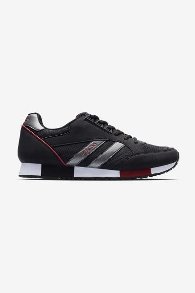Boston 2 Siyah Erkek Sneaker Ayakkabı
