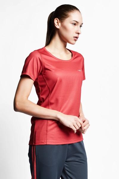 21S-2204-21B Women T-Shirt Brown
