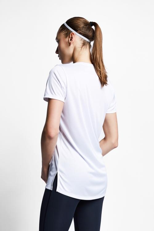Beyaz Kadın T-Shirt 21S-2208-21B