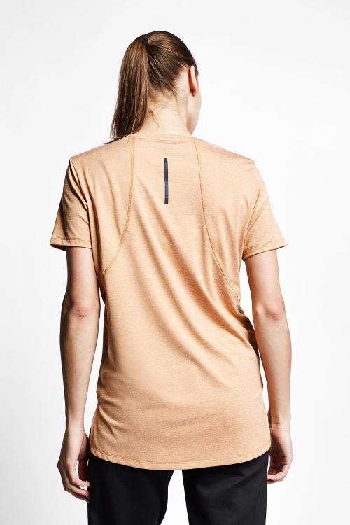 Karamel Kadın Kısa Kollu T-Shirt 21B-2004