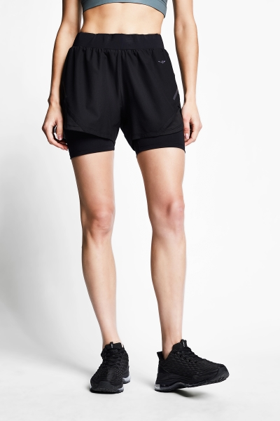 21B-2040 Women Running Tight Short Black