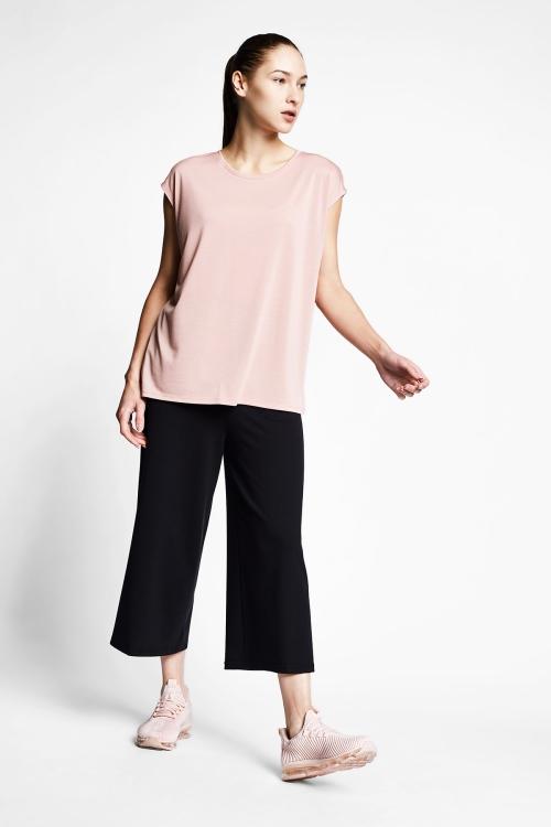 Somon Kadın Kısa Kollu T-Shirt 21B-2023
