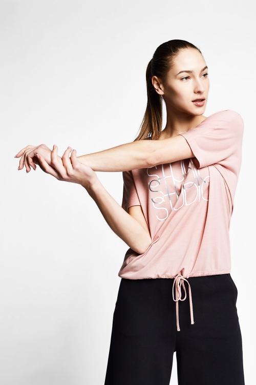 Somon Kadın Kısa Kollu T-Shirt 21B-2031