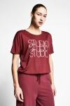 21B-2031 Women T-Shirt Red