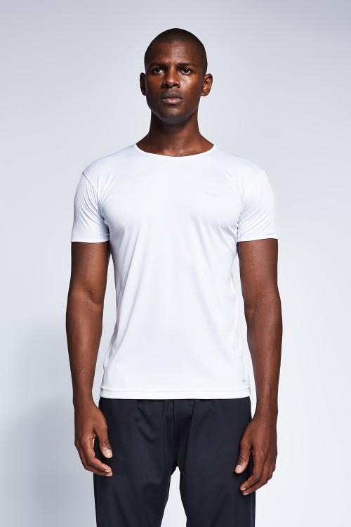 Beyaz Erkek T-Shirt 21S-1220-21B