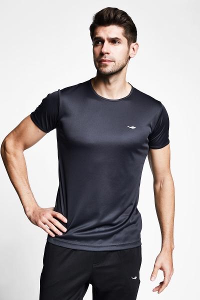 Antrasit Gri Erkek T-Shirt 21S-1220-21B