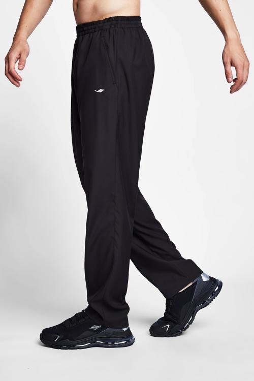 21S-1237-21B Men Track Pants Black
