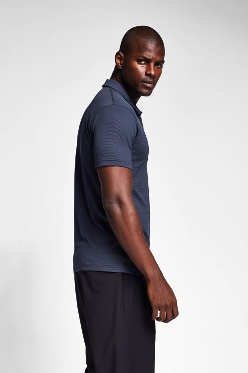 Antrasit Gri Erkek Polo Yaka T-Shirt 21S-1275-21B