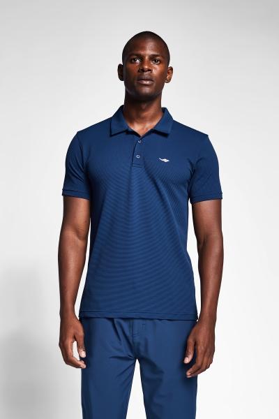 Safir Mavi Erkek Polo Yaka T-Shirt 21S-1275-21B