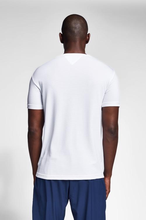 Beyaz Erkek T-Shirt 21S-1294-21B
