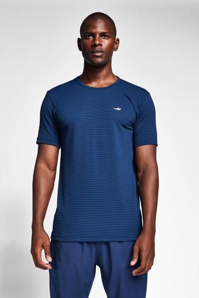Safir Mavi Erkek T-Shirt 21S-1294-21B
