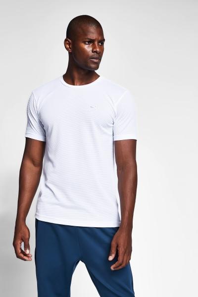 Beyaz Erkek T-Shirt 21S-1298-21B