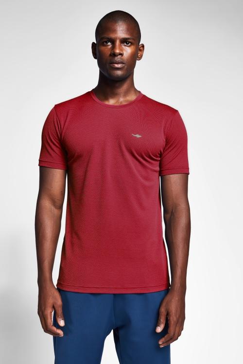 Bordo Erkek T-Shirt 21S-1298-21B