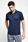 Koyu Lacivert Erkek Polo Yaka T-Shirt 21S-1299-21B