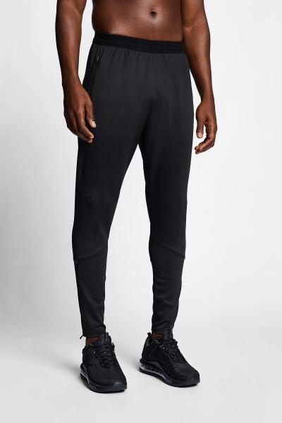 21B-1003 Men Running Track Pants Black